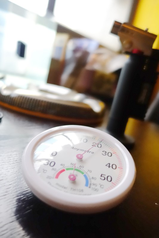 雪茄溫度濕度計(Cigar hygrometer)