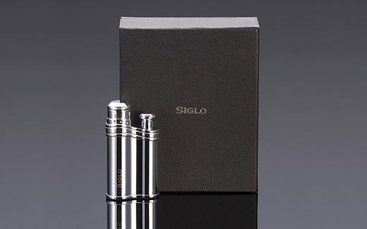 Bean-shaped Lighter - POLISH SLIVER,世紀銀色雪茄火槍/打火機10010449-4l