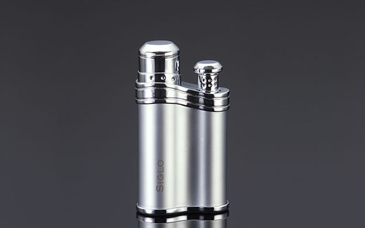 Siglo Bean-shaped Lighter - PEARL,世紀珍珠色雪茄火槍/打火機