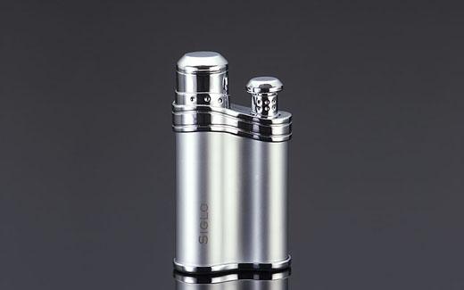 Siglo Bean-shaped Lighter - PEARL,世紀珍珠色雪茄火槍/打火機